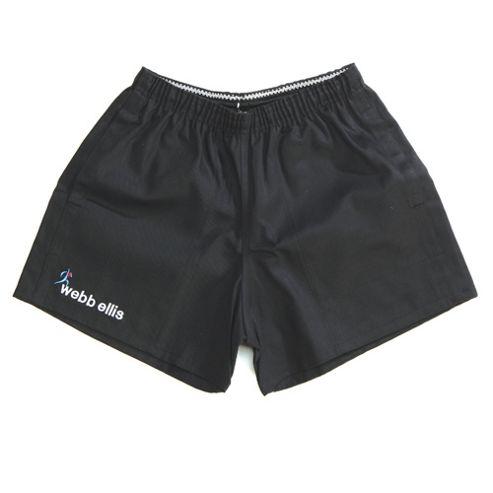 Rugbeian Short Black - 36