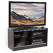 MDF TV Stand up to 44 Inches - Black Satin Finish