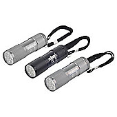 Rolson 3pc 9 LED torch set