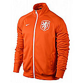 2014-15 Holland Nike Core Trainer Jacket (Orange) - Orange
