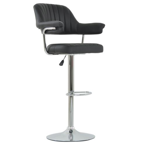 buy perona black bar stool from our bar tables stools. Black Bedroom Furniture Sets. Home Design Ideas