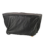 Lifestyle 4 Burner Flat Bed Barbeque Cover (Black)