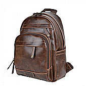 TLL008 Troop London Faux Leather Small Backpack