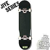 Madd Gear Jive Series Mini Logo Black Complete Skateboard