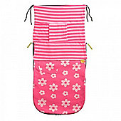 Buggy Snuggle Beachbug Summer Buggysnuggles (Candy Floss Flowers/Stripes)