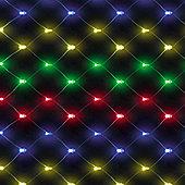 120cm/4ft Chasing Net Light with 100 Multicoloured LEDs