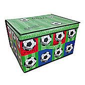 Country Club Jumbo Storage Chest, Football, 50 x 40 x 30cm