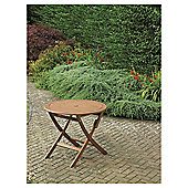 Windsor 90cm Folding Wooden Round Garden Table