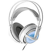 Steelseries Siberia V2 Frost Blue Edition USB Headset for PC & Mac Illuminated V2 Frost Blue Pull-out - Active Noise-Canceling Microphone PC & Mac
