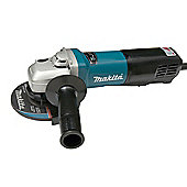Makita 9565PCV 125mm Angle Grinder With Paddle Switch 1400 Watt 240 Volt