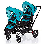 ABC Design Zoom Tandem Pushchair - Coral