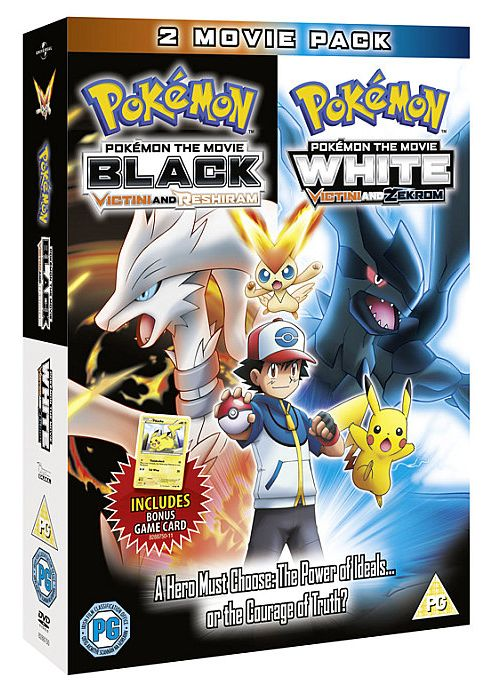 Pokemon The Movie - White - Victini And Zekrom / Black - Victini And Reshiram (DVD Boxset)