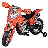 6V Off Road Ride On Motorbike Red