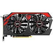 MSI NVIDIA GeForce GTX 750Ti Video Graphics Card OC Gaming Edition 2 GB PCI-Express X16 DVI / HDMI /VGA DDR5 N750Ti TF 2GD5/OC