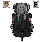 Cozy N Safe Car Seat, Group 123 (Black)Removable Covers Lightweight Easy to Fit
