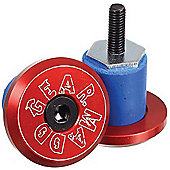 Madd Gear MGP Bar Ends - Red