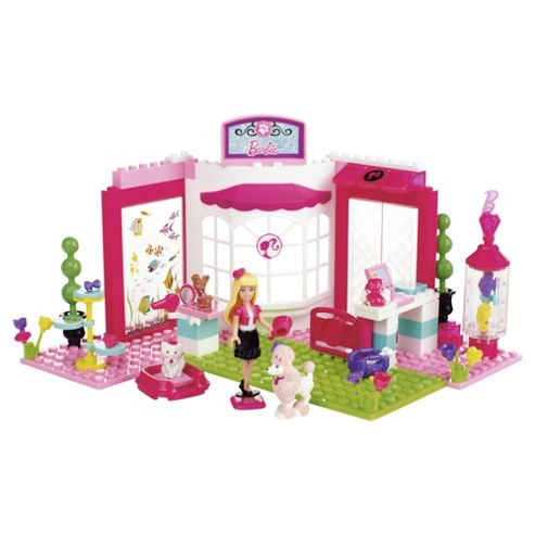 Mega Bloks Barbie Build'n Style Petshop Playset