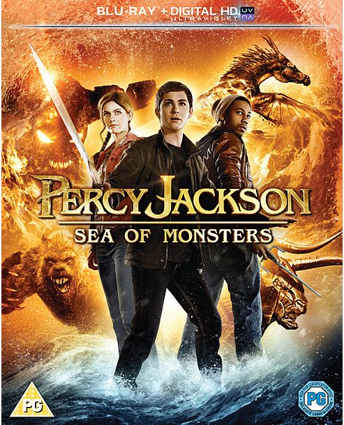 Percy Jackson Sea Of Monsters - Blu-Ray