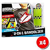 BOOMco 2-in-1 Bandolier x4 (Value 4 pack)