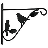 "Tesco 12"" Bird Design Hanging Basket Bracket"