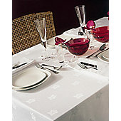 Belledorm Ivy Leaf Rectangular Table Linen - Black - 178cm x 274cm