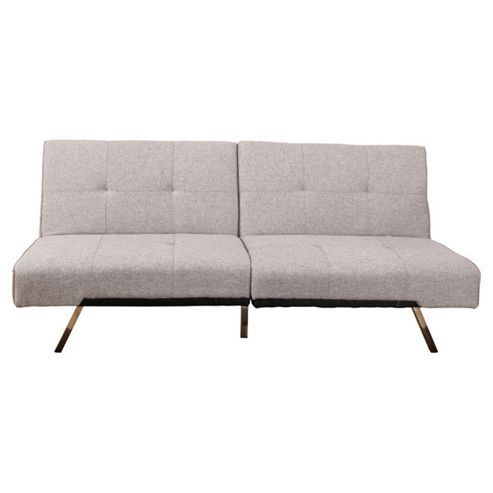 Leader Lifestyle Royale Foldable Futon Sofa bed - Grey Fabric