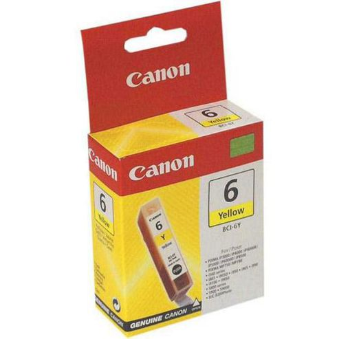 Canon 14 ml Original Ink Cartridge for Canon I860 Printer - Yellow