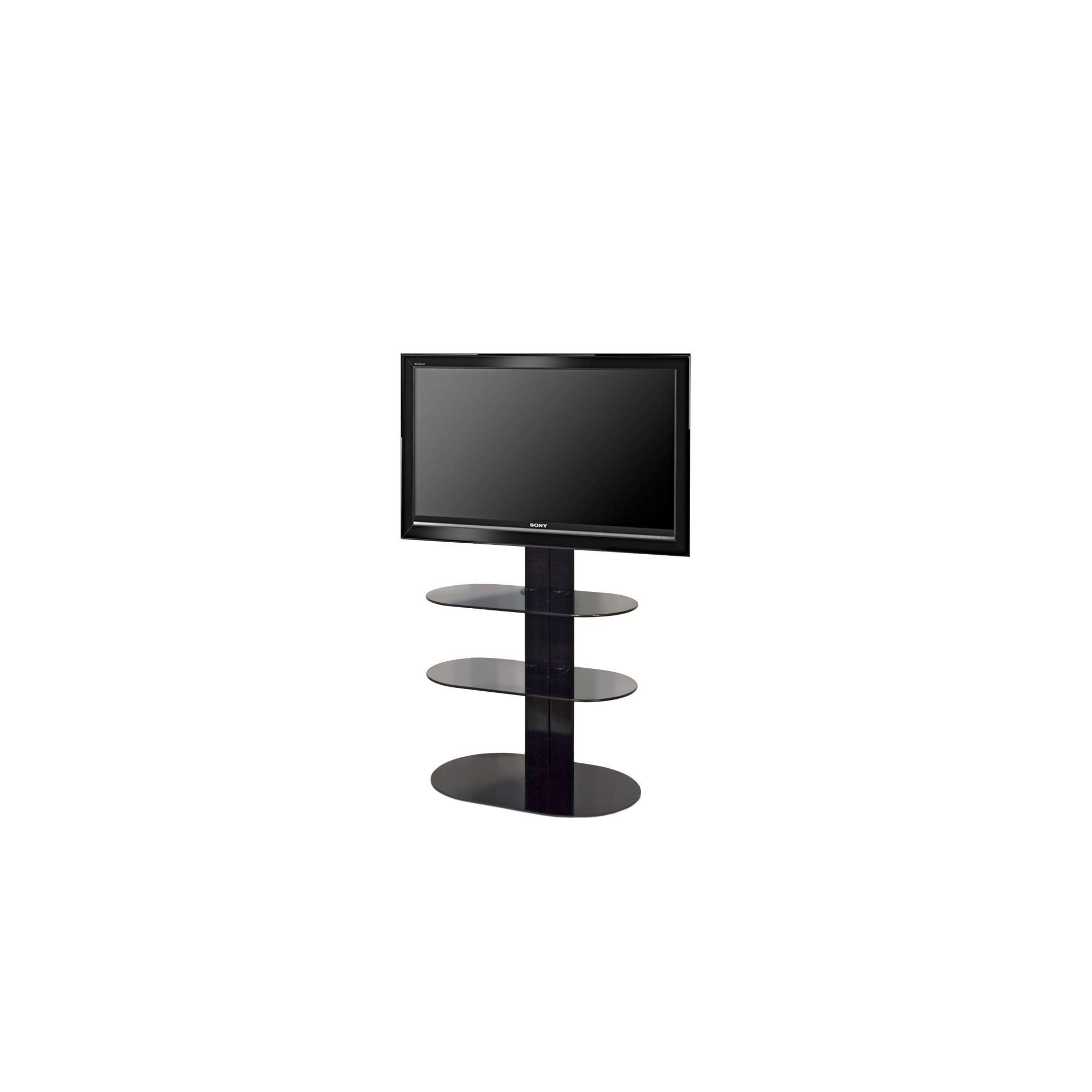 OMB Totem 1500 TV Stand - Black at Tesco Direct