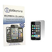 S-Protect Anti Glare LCD Screen Protector & Cleaning Cloth for Apple iPhone 3GS - Red