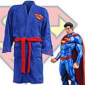 Superman Bathrobe for Men - Man of Steel