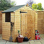 4ft x 6ft Value Tongue & Groove Apex Shed 4 x 6 Garden Wooden Shed 4x6