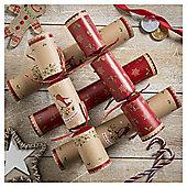 Tom Smith Kraft Christmas Crackers, 6 pack