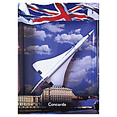 Concorde Aeroplane Die-Cast Metal Model