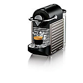 Krups XN300540 Nespresso Pixie Coffee Machine - Titanium