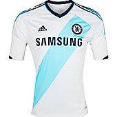 2012-13 Chelsea Adidas Away Football Shirt - White