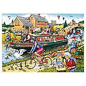 Canal 1000 Piece Jigsaw Puzzle