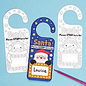 Christmas Crafts Personalised Door Hangers (8 Pcs)