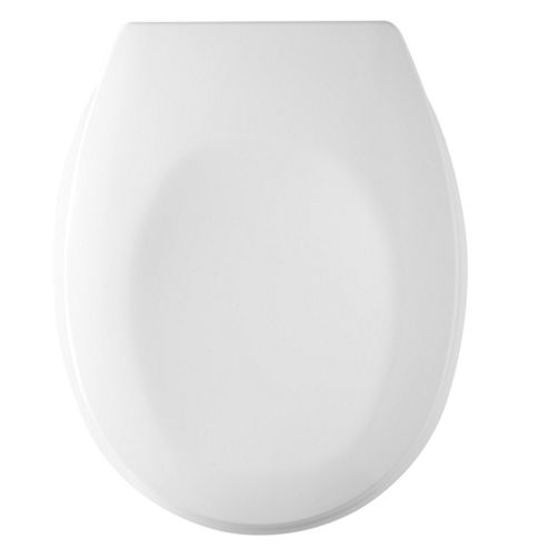 Tavistock Verve Soft Close Toilet Seat in White