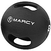 Marcy Double Handle Medicine Ball Rubber - 10kg