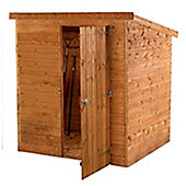 6ft x 4ft Windowless Tongue & Groove Pent Shed