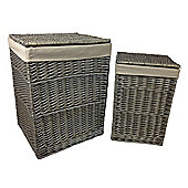 Wicker Valley Laundry Hamper (Set of 2)