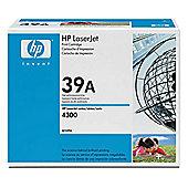 HP 39A Black Smart Print Cartridge (Yield 18,000 Pages) for HP LaserJet 4300 Printers