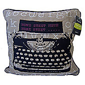 Country Club Tapestry Scatter Cushion with Inner, Home Sweet Home
