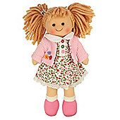 Bigjigs Toys 28cm Doll BJD005 Poppy