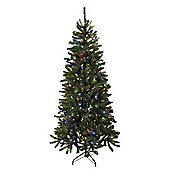 6ft Pre Lit Multi-function Christmas Tree (300 multi LEDs)