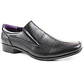 Caravelle Mens Black Avery Slip-on Formal Shoe