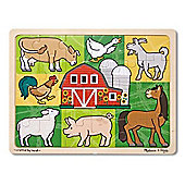 Melissa & Doug Patchwork Farm Animal Jigsaw Puzzle