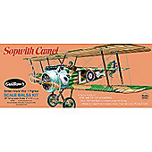 Guillows Sopwith Camel 801 Powered Balsa Aircraft 1:12 Flying Model Kit