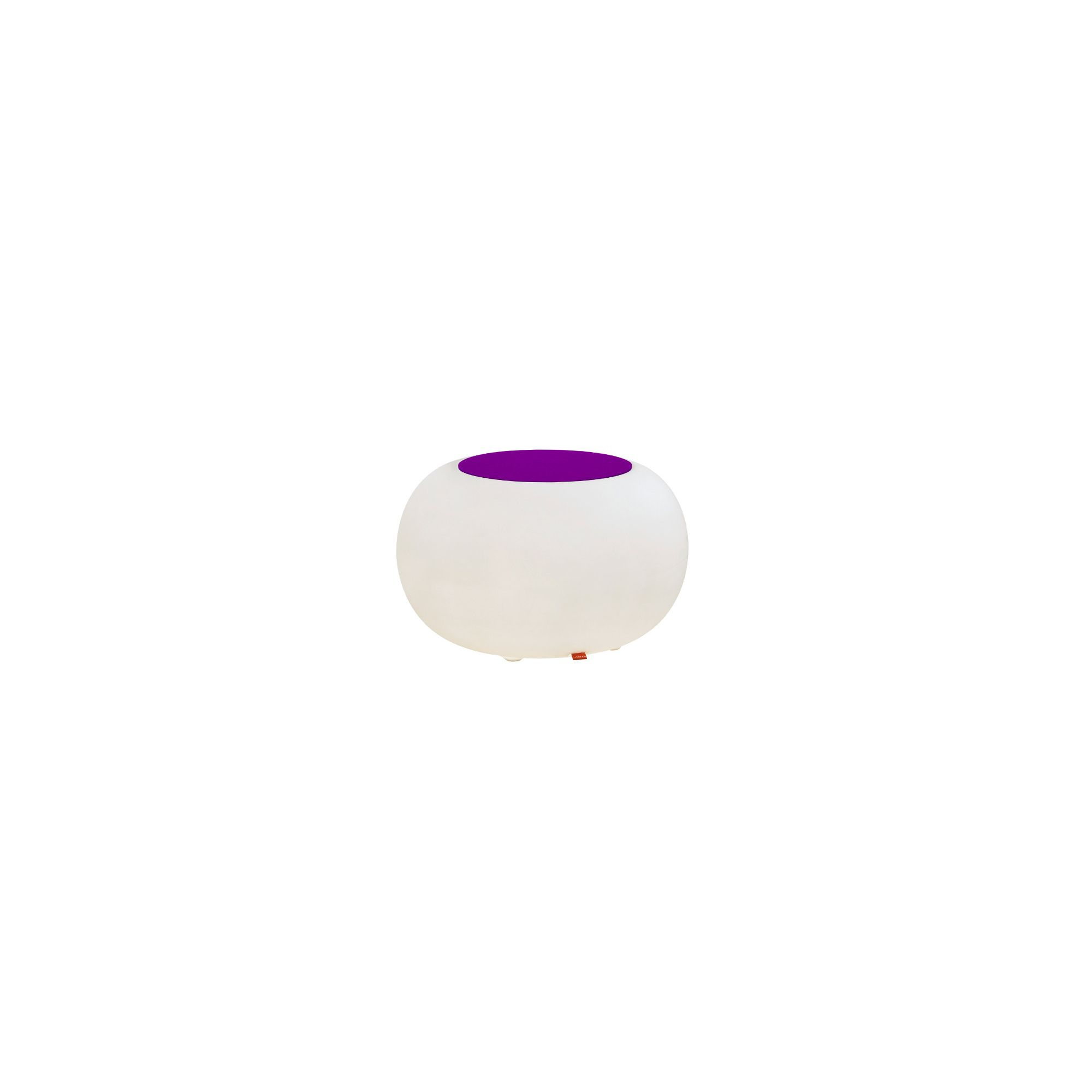 Moree Bubble Indoor Table - Felt Cushion Violet at Tesco Direct