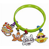 Moshi Monsters - Bracelet With Two Charmlings